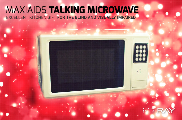 4 MaxiAids Talking Microwave