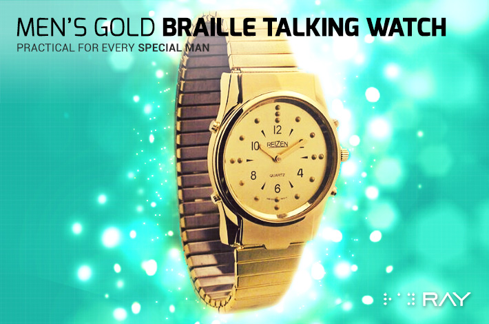 Gifts-9-Mens-Gold-Braille-Talking-Watch